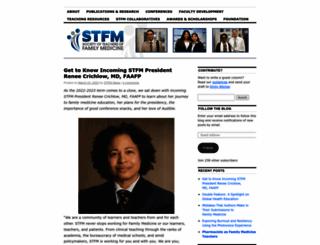 blog.stfm.org screenshot