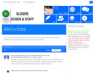 blog.stikesmuhkudus.ac.id screenshot