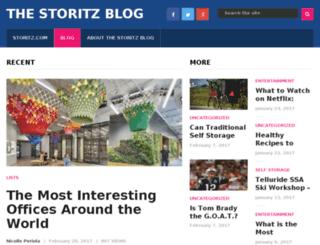 blog.storitz.com screenshot
