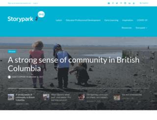 blog.storypark.com screenshot