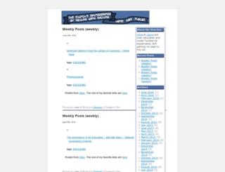 blog.sturch.net screenshot
