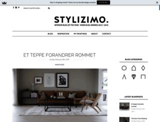 blog.stylizimo.com screenshot