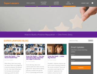 blog.superlawyers.com screenshot