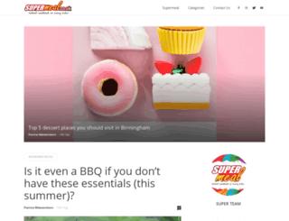 blog.supermeal.co.uk screenshot