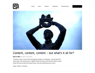 blog.supertext.ch screenshot