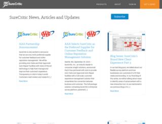 blog.surecritic.com screenshot