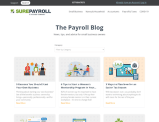 blog.surepayroll.com screenshot