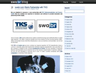 blog.swabr.com screenshot