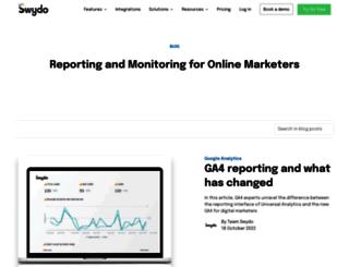 blog.swydo.com screenshot
