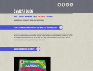 blog.symcat.com screenshot