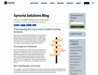 blog.synoviasolutions.com screenshot