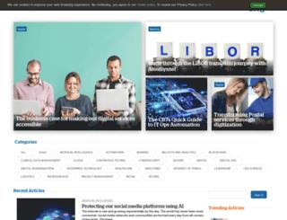 blog.syntelinc.com screenshot