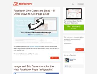 blog.tabfoundry.com screenshot