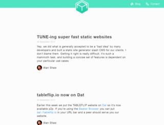blog.tableflip.io screenshot