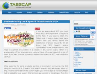 blog.tabscap.com screenshot