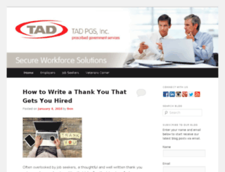 blog.tadpgs.com screenshot