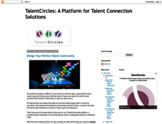 blog.talentcircles.com screenshot