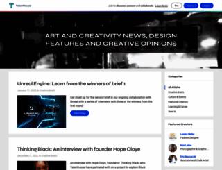 blog.talenthouse.com screenshot