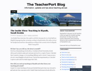 blog.teacherport.com screenshot