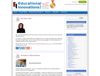 blog.teachersource.com screenshot