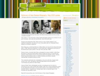 blog.teara.govt.nz screenshot
