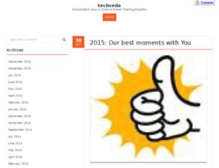 blog.techveda.org screenshot