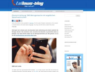 blog.tellows.de screenshot
