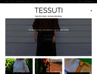 blog.tessuti.com.au screenshot