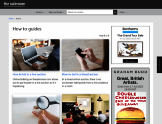 blog.the-saleroom.com screenshot