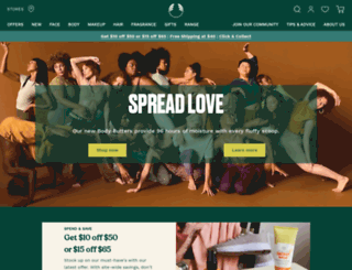 blog.thebodyshop.com.au screenshot
