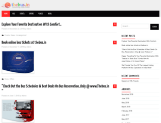 blog.thebus.in screenshot