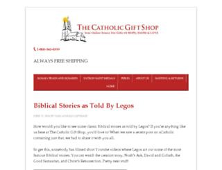 blog.thecatholicgiftshop.com screenshot