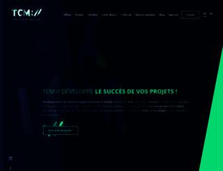 blog.thecodingmachine.com screenshot