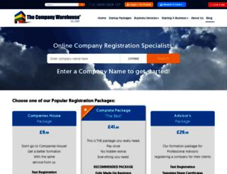 blog.thecompanywarehouse.co.uk screenshot