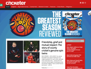 blog.thecricketer.com screenshot