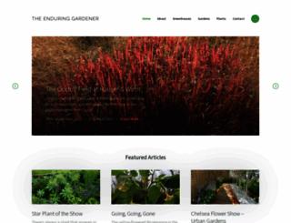 blog.theenduringgardener.com screenshot