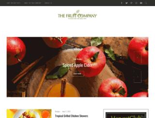 blog.thefruitcompany.com screenshot