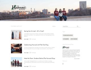 blog.theharvardshop.com screenshot