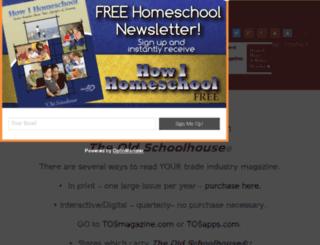 blog.thehomeschoolmagazine.com screenshot