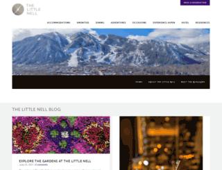 blog.thelittlenell.com screenshot