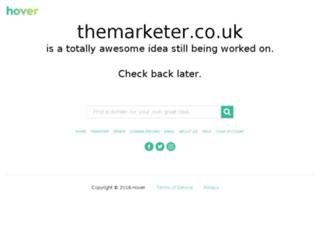 blog.themarketer.co.uk screenshot