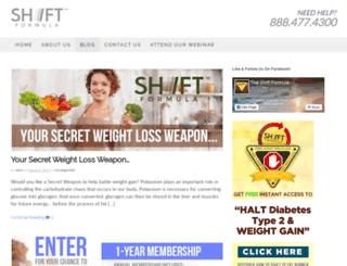 blog.theshiftformula.com screenshot