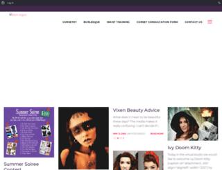blog.thevioletvixen.com screenshot