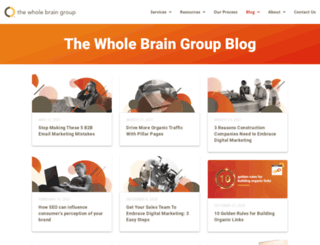 blog.thewholebraingroup.com screenshot