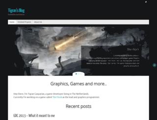 blog.tigrangasparian.com screenshot