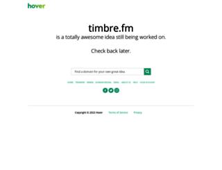 blog.timbre.fm screenshot
