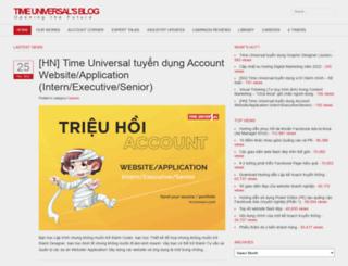 blog.timeuniversal.vn screenshot