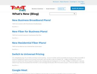 blog.toast.net screenshot