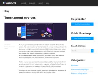 blog.toornament.com screenshot