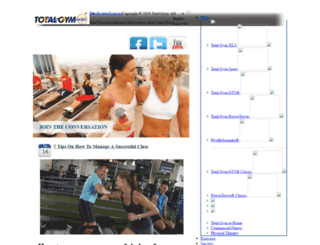blog.totalgym.com screenshot